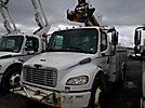 Altec TA40, Articulating & Telescopic Bucket Truck, mounted behind cab on, 2007 Freightliner M2-106 Utility Truck