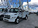 Altec TA40, Articulating & Telescopic Bucket Truck, mounted behind cab on, 2007 Freightliner M2 Utility Truck