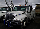 Altec TA40, Articulating & Telescopic Bucket Truck, mounted behind cab on, 2008 International 4300 Utility Truck