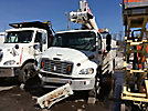 Altec TA40, Articulating & Telescopic Bucket Truck, mounted behind cab on, 2010 Freightliner M2-106 Utility Truck