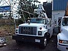Altec TA40, Articulating & Telescopic Bucket Truck mounted behind cab on 1997 GMC C7500 Utility Truck