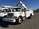Altec TA40, Articulating & Telescopic Bucket Truck mounted behind cab on 2001 International 4900 Utility Truck