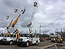 Altec TA40, Articulating & Telescopic Bucket Truck mounted behind cab on 2003 International 4300 Utility Truck