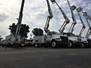 Altec TA40, Articulating & Telescopic Bucket Truck mounted behind cab on 2005 Ford F750 Utility Truck
