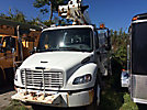 Altec TA40, Articulating & Telescopic Bucket Truck mounted behind cab on 2006 Freightliner M2 106 Utility Truck