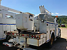 Altec TA40, Articulating & Telescopic Bucket Truck mounted behind cab on 2006 Freightliner M2 Utility Truck