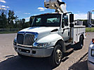 Altec TA40, Articulating & Telescopic Bucket Truck mounted behind cab on 2006 International 4200 Utility Truck