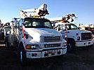 Altec TA40, Articulating & Telescopic Bucket Truck mounted behind cab on 2006 Sterling Acterra Utility Truck