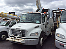 Altec TA40, Articulating & Telescopic Bucket Truck mounted behind cab on 2007 Freightliner M2 106 Utility Truck