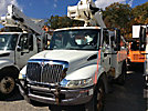 Altec TA40, Articulating & Telescopic Bucket Truck mounted behind cab on 2007 International 4200 Utility Truck