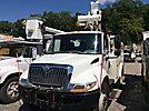 Altec TA40, Articulating & Telescopic Bucket Truck mounted behind cab on 2008 International 4300 DuraStar Utility Truck