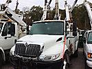 Altec TA40, Articulating & Telescopic Bucket Truck mounted behind cab on 2008 International 4300 Utility Truck