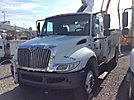 Altec TA40, Articulating & Telescopic Bucket Truck mounted behind cab on 2010 International 4300 Utility Truck