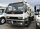 Altec TA41-MH, Articulating & Telescopic Material Handling Bucket Truck, center mounted on, 2006 GMC T7500 Utility Truck