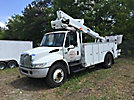 Altec TA41-MH, Articulating & Telescopic Material Handling Bucket Truck mounted behind cab on 2006 International 4200 Utility Truck