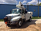 Altec TA41-MH, Articulating & Telescopic Material Handling Bucket Truck mounted behind cab on 2007 International 4200 Utility Truck