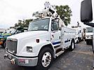 Altec TA41M, Articulating & Telescopic Material Handling Bucket Truck, center mounted on, 2000 Freightliner FL70 Utility Truck