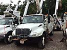 Altec TA41M, Articulating & Telescopic Material Handling Bucket Truck mounted behind cab on 2007 International 4300 DuraStar Utility Truck
