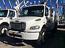 Altec TA45-MH, Articulating & Telescopic Material Handling Bucket Truck mounted behind cab on 2007 Freightliner M2 Utility Truck