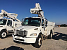 Altec TA45M, Articulating & Telescopic Material Handling Bucket Truck, mounted behind cab on, 2006 Freightliner M2 Utility Truck