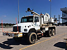 Altec TDH, Pressure Digger, rear mounted on, 1999 Freightliner FL80 6x6 Utility Truck