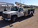 Armlift A-TEL33-AEHL, Telescopic Non-Insulated Bucket Truck, mounted behind cab on, 2000 Chevrolet C3500 Service Truck