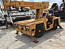 Broderson 1C701B, 12,000# Cary Deck Crane, s/n 406B, gas, shuttle, with 28' sheave height, 3 section hyd boom, heel winch, 4 hyd outriggers & ROPS (Reads 861 Hours)