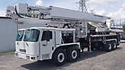 Bronto S180HDT, Articulating & Telescopic Non-Insulated Platform Lift, mounted on, 2009 Kimble C6000 8x6 Cab & Chassis