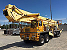 Condor 170S, Articulating & Telescopic Non-Insulated Platform Lift rear mounted on 2003 Kimble C6000 8x6 Carrier