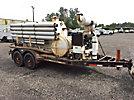 Ditch Witch SPV800, 800-Gallon T/A Vacuum ExcavationTrailer