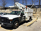 Duralift DTS-29, Telescopic Non-Insulated Bucket Truck mounted behind cab on 2008 Ford F350 Service Truck
