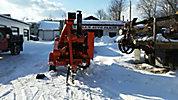 E-Z Beevers Chipper (12' Drum), diesel, trailer mtd