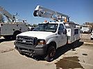 ETI ETA33-IH, Bucket Truck center mounted on 2007 Ford F350 4x4 Service Truck