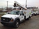 ETI ETA37-IH, Articulating & Telescopic Bucket Truck, mounted on, 2005 Ford F550 4x4 Service Truck