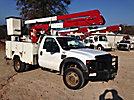 ETI ETA37-IH, Bucket Truck, center mounted on, 2008 Ford F550 4x4 Service Truck