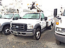 ETI ETC35S-NT, Articulating & Telescopic Non-Insulated Bucket Truck mounted behind cab on 2006 Ford F450 Service Truck