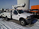 ETI ETC36-SNT, Articulating & Telescopic Bucket Truck, mounted behind cab on, 2004 Ford F450 Service Truck