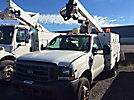 ETI ETC36-SNT, Articulating & Telescopic Non-Insulated Bucket Truck mounted behind cab on 2004 Ford F450 Service Truck