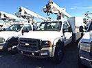 ETI ETC36-SNT, Articulating & Telescopic Non-Insulated Bucket Truck mounted behind cab on 2005 Ford F550 Service Truck