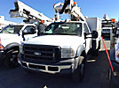 ETI ETC36-SNT, Articulating & Telescopic Non-Insulated Bucket Truck mounted behind cab on 2006 Ford F450 Service Truck