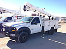 ETI ETC37-IH, Articulating & Telescopic Bucket Truck, mounted behind cab on, 2006 Ford F550 Service Truck