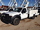 ETI ETC37-IH, Articulating & Telescopic Bucket Truck, mounted behind cab on, 2008 Ford F550 Service Truck
