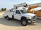 ETI ETC37-IH, Articulating & Telescopic Bucket Truck mounted behind cab on 2008 Dodge W5500 4x4 Service Truck