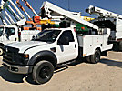ETI ETC37-IH, Articulating & Telescopic Bucket Truck mounted behind cab on 2009 Ford F550 Service Truck