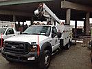 ETI ETO37-IH, Articulating & Telescopic Bucket Truck, mounted on, 2005 Ford F550 4x4 Service Truck