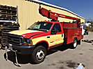 ETI ETT29-SNT, Telescopic Bucket Truck mounted behind cab on 2001 Ford F450 Service Truck