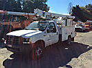 ETI ETT29-SNT, Telescopic Non-Insulated Bucket Truck, mounted behind cab on, 2003 Ford F450 Service Truck