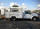 ETI ETT29-SNT, Telescopic Non-Insulated Bucket Truck, mounted behind cab on, 2004 Ford F350 Service Truck