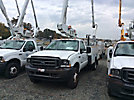 ETI ETT29-SNT, Telescopic Non-Insulated Bucket Truck, mounted behind cab on, 2004 Ford F450 Service Truck
