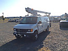 ETI ETT29-SNT, Telescopic Non-Insulated Bucket Van, mounted behind cab on, 2005 Ford E350 Cargo Van